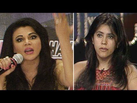 Shocking ! Rakhi Sawant takes a dig at Ekta Kapoor