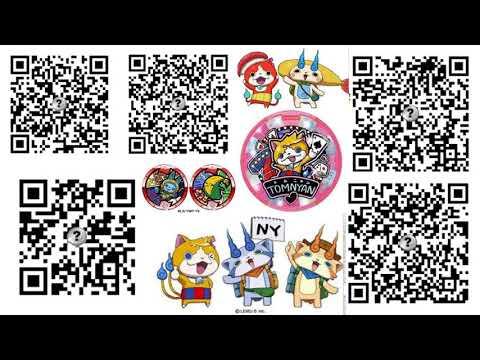 yo kai watch 3 legend coin qr codes