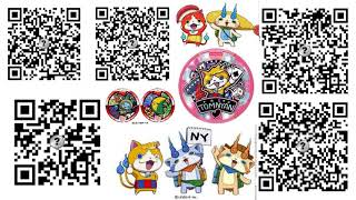 Yo Kai Watch 1 Qr Codes Piece