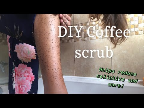 DIY: Coffee Scrub To Help Reduce Cellulite, Stretch Marks, Body Acne And More!