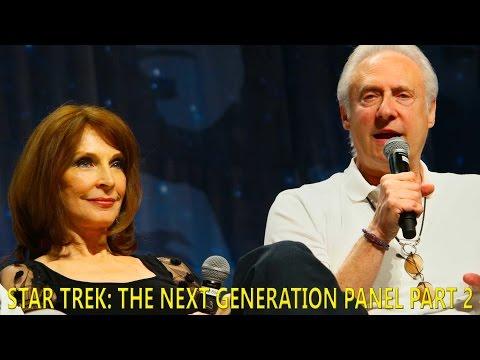 Star Trek: TNG Panel Part 2 Upclose! Brent Spiner, Levar Burton and Gates McFadden - August 5, 2016