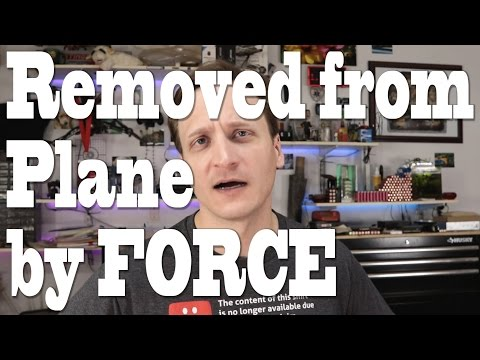 Thumbnail: United Airlines removes man by FORCE to make room for STAFF