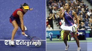 video: US Open final: Fans in New York say whether they're team Emma Raducanu or Leylah Fernandez