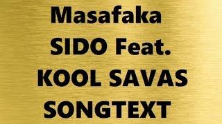 Sido feat. Kool Savas - Masafaka | SONGTEXT / LYRICS Das Goldene Album 2016