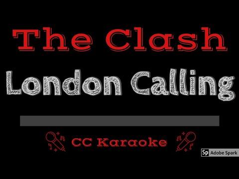 The Clash   London Calling CC Karaoke Instrumental