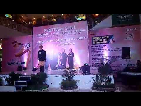 Lagu dendam belipat penyanyi Agung dari SMK PGRI 2 LAHAT