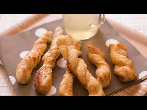 recette-:-tortillons-de-pâte-feuilletée-au-sucre