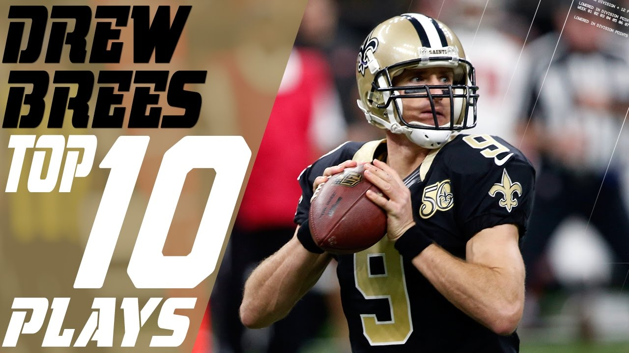 3a446be30 Drew Brees  Top 10 Plays of the 2016 Season
