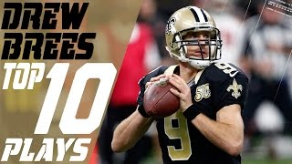 Drew Brees' Top 10 Plays of the 2016 Season | New Orleans Saints | NFL Highlights