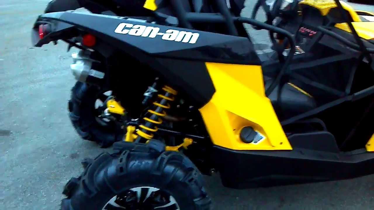 2014 Can Am Maverick 1000 Mud Racer Xmr 101 Hp Snorkels Alcoa Good