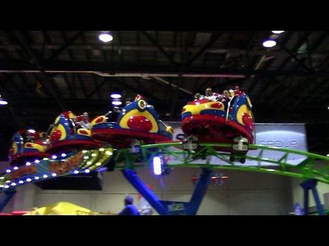 Spinning Coaster off-ride HD IAAPA Attractions Expo