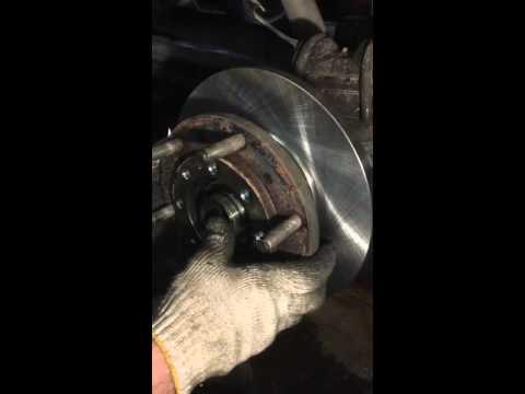 Форд транзит задние тормозные диски