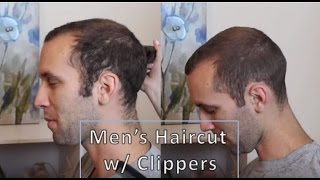 Easy Mens Haircut using Clippers | Haircut Time-Lapse
