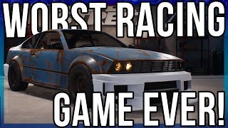 Possibly The Worst Racing Game Ever...