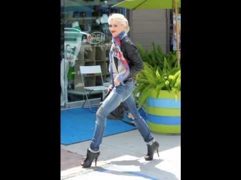 Gwen Stefani Feet & Legs (Close-Up)