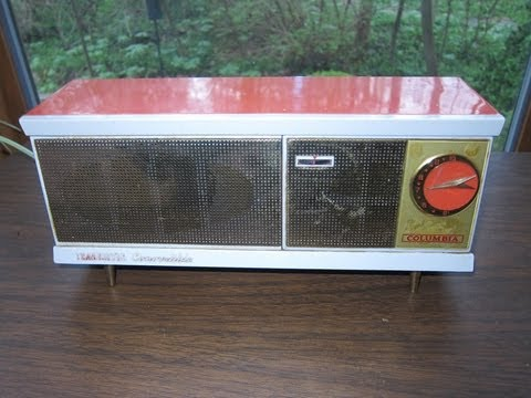 1961 Columbia AM Radio + Dock (Grundig)