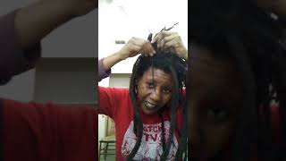 Freeform Dreadlock Talk What Is Webbing? And Life Update