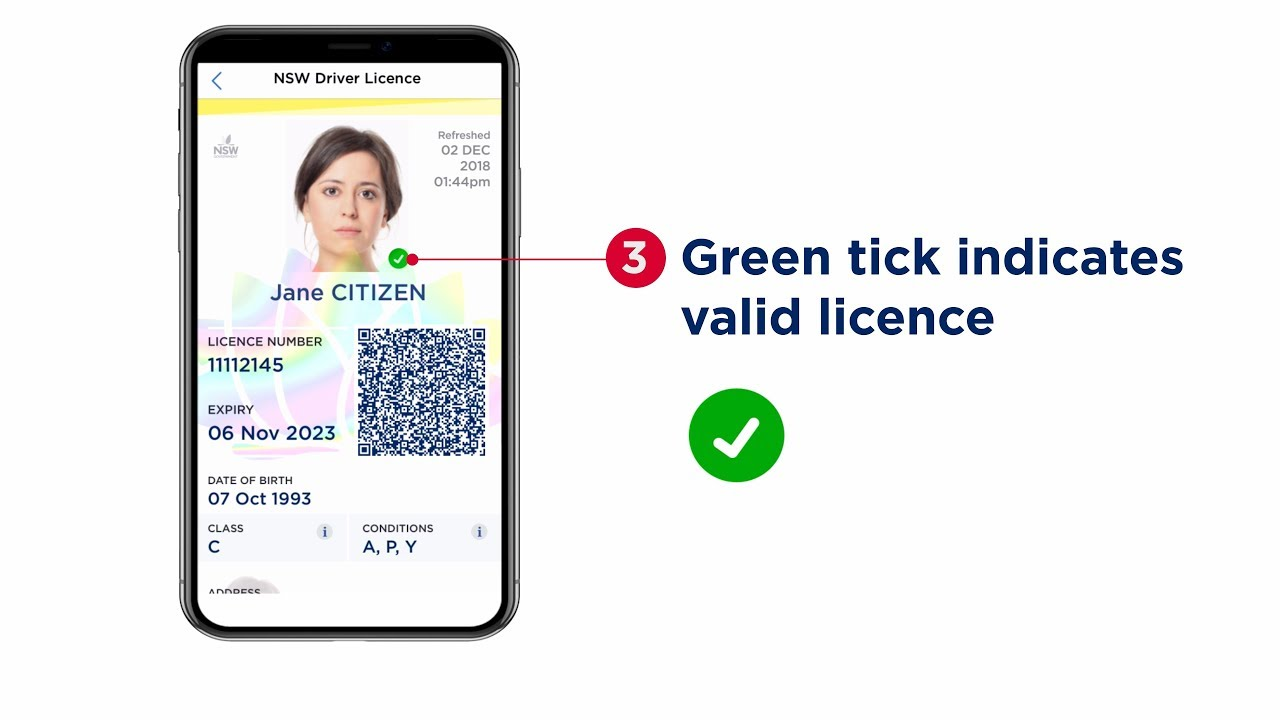 Licence checkers and the Digital Driver Licence trial
