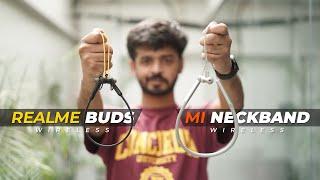 Realme Buds Wireless vs Mi Neckband Wireless: Which One to Buy?