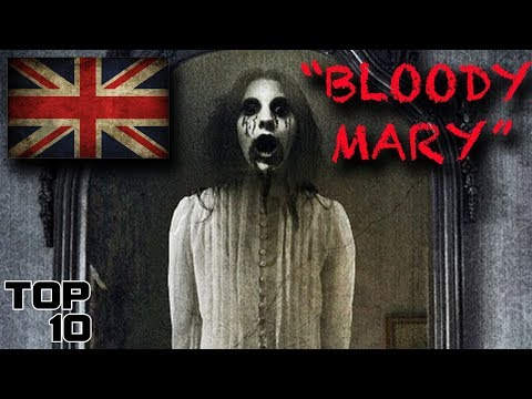 Top 10 Scary Bloody Mary Urban Legends