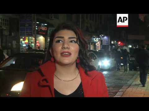 Residents of Damascus hope for peace in 2017