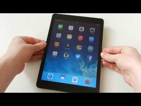 Apple iPad Air WiFi + Cellular spacegrau Test & LTE Speed