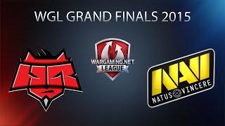 World of Tanks - Hellraisers vs. Natus Vincere - WGL Grand Finals 2015 - Semifinal