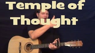 Temple of Thought - Poets of the Fall - Easy Strum Guitar Lesson Licks How to Play Tutorial