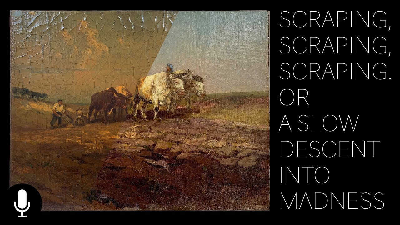 Download Scraping, Scraping, Scraping Or A Slow Descent Into Madness.  The Conservation of Mathias J. Alten