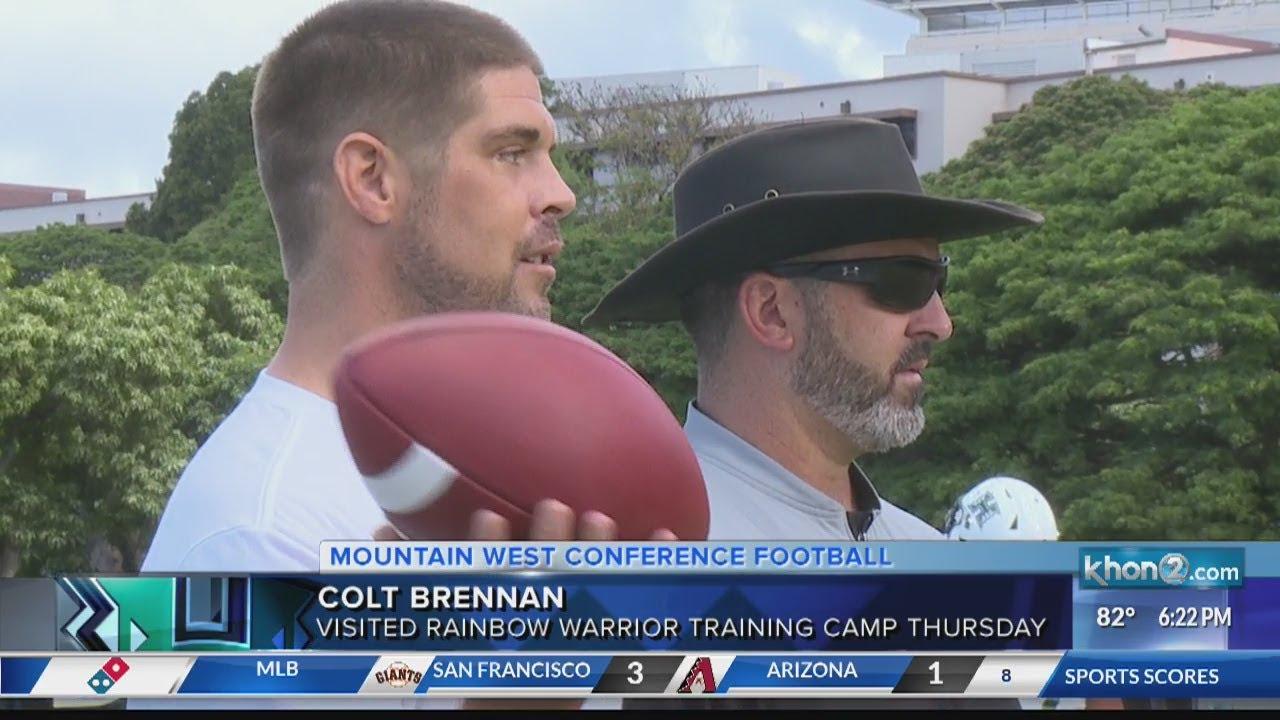 Family: Former Hawaii QB, Heisman Trophy finalist Colt Brennan ...