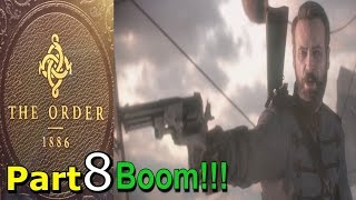 The Order 1886 Walkthrough Gameplay Part 8 Agamemnon Rising Chapter 5 Single Player Lets Play