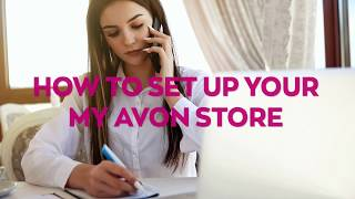 How to Setup Your My Avon Store