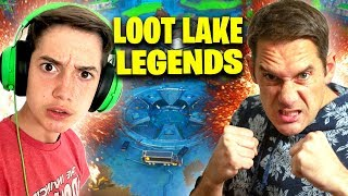 LEGENDS OF LOOT LAKE - Fortnite Father & Son Duos