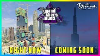 GTA 5 Online Casino DLC Update - NEW DETAILS! Moving Locations, The Diamond Resort Interior & MORE!