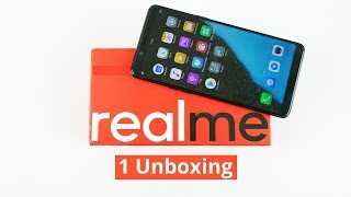 Realme 1 Unboxing - 6-inch FHD+ display, 6GB RAM and 128GB storage