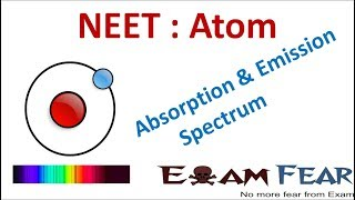 NEET Physics Atom : Absorption and Emission Spectrum