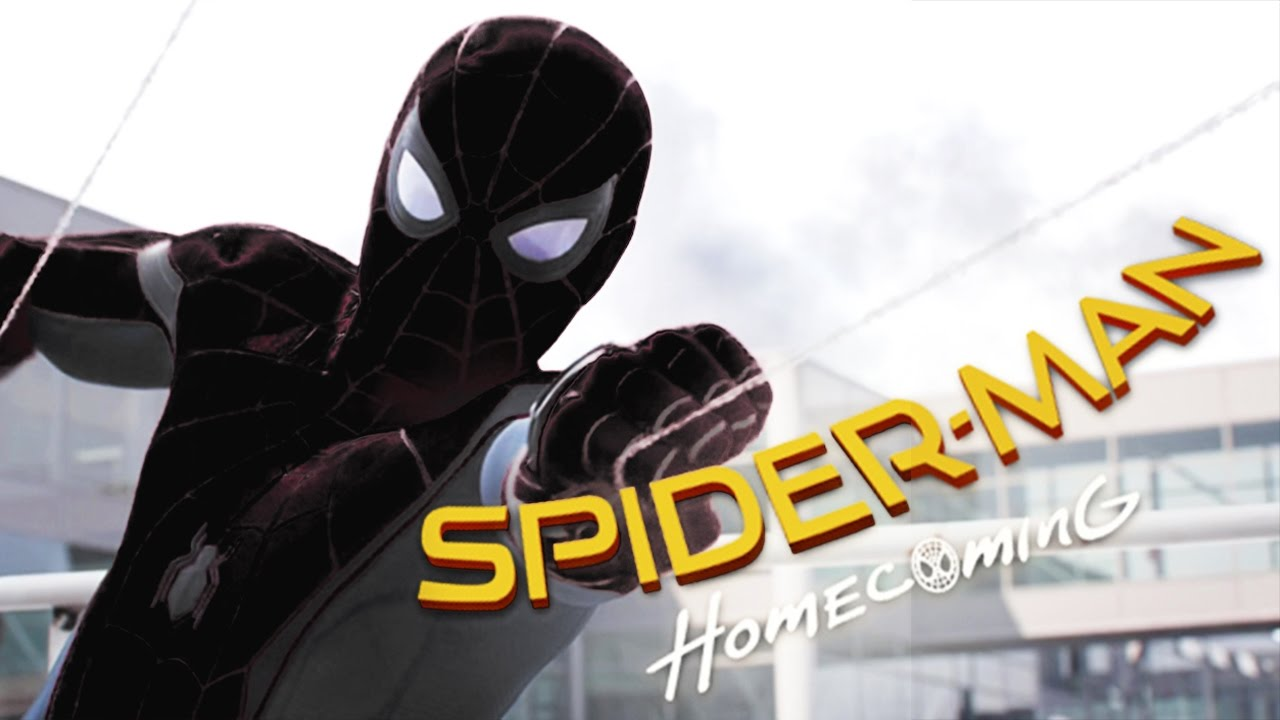 Spiderman Homecoming Free 123movies: Spider-man Homecoming Black Suit 2017