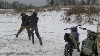 Dirt Bike Pay Back Fight