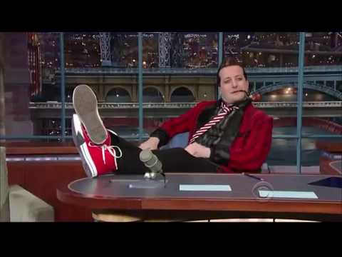 Tre Cool on Letterman