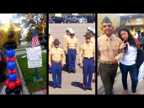 Dedication to my son Aaron, his journey becoming a US MARINE!