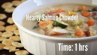 Hearty Salmon Chowder Recipe
