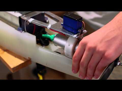 Underwater robot at Princeton Engineering