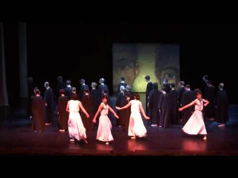 """Gluck """"Orfeo"""" 13.11.13 Theatre of St. Petersburg Conservatory"""