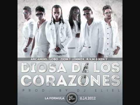 DIOSA DE LOS CORAZONES - ARCANGEL FT LOBO,...