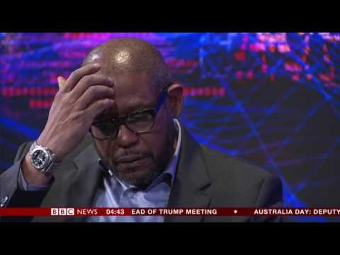 BBC Hardtalk interview with Forest Whitaker at Davos