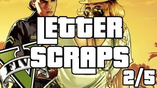Grand Theft Auto 5 Letter Scrap Locations - GTA V - A Mystery Solved Achievement Part 2  GTA 5