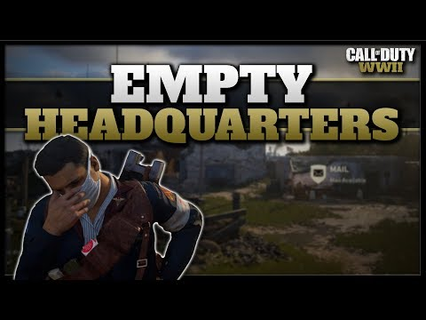 Why You're Alone in the Headquarters (CoD WW2 Empty HQ)