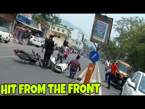 accident catch by KTM boy ||  haldwani NAINITAL ROAD || 5 movements in 5 minute's