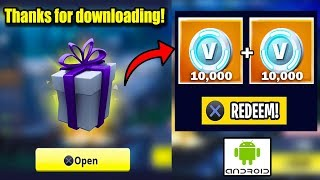 *NEW* Download Fortnite and Get 18,000 FREE V-BUCKS on YOUR Account! Fortnite coming to ANDROID!