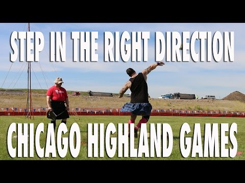 STEP IN THE RIGHT DIRECTION | CHICAGO HIGHLAND GAMES